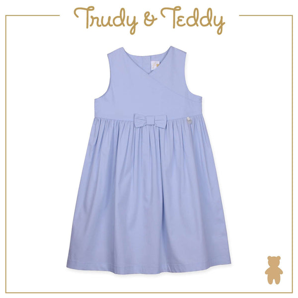 Trudy & Teddy Baby to Kid Girl Sleeveless Dress - Light Blue T915002-3108-L1 : Buy Trudy & Teddy online at CMG.MY