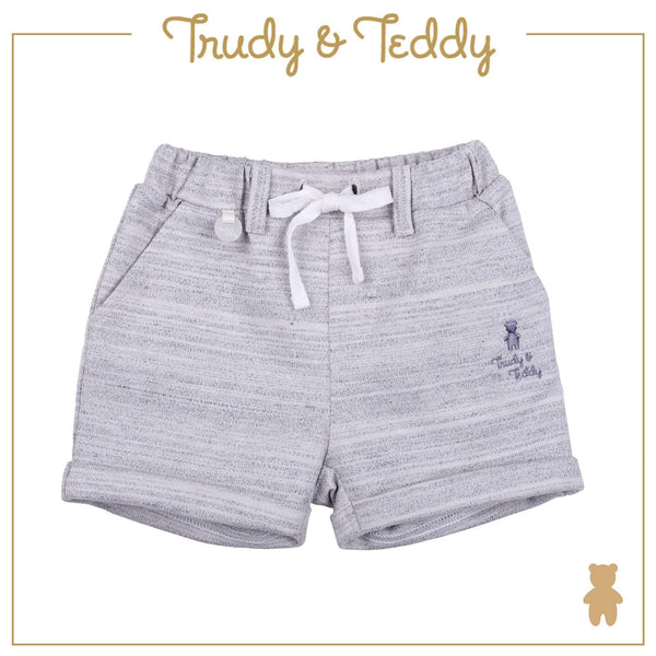 Trudy & Teddy Baby Boy Knit Bermuda - Light Grey T921001-2827-G1 : Buy Trudy & Teddy online at CMG.MY