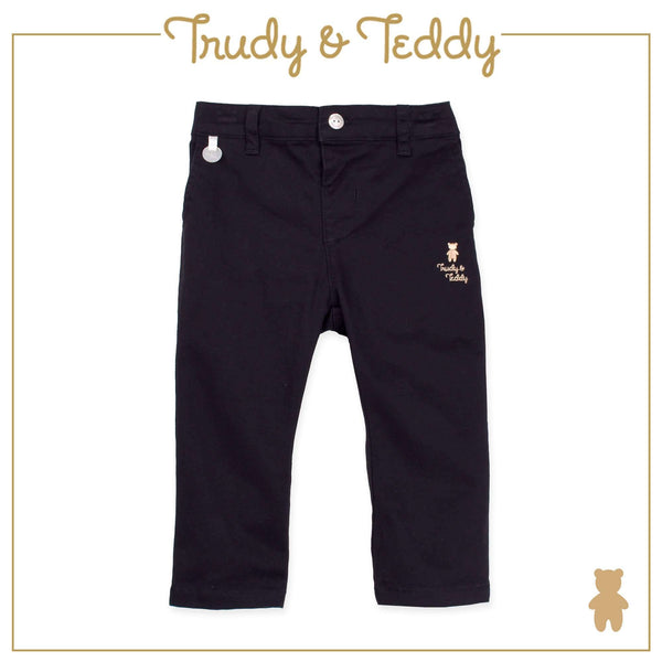 Trudy & Teddy Baby to Kid Boy Long Pants Slim Fit - Black T921105-2508-G9 : Buy Trudy & Teddy online at CMG.MY