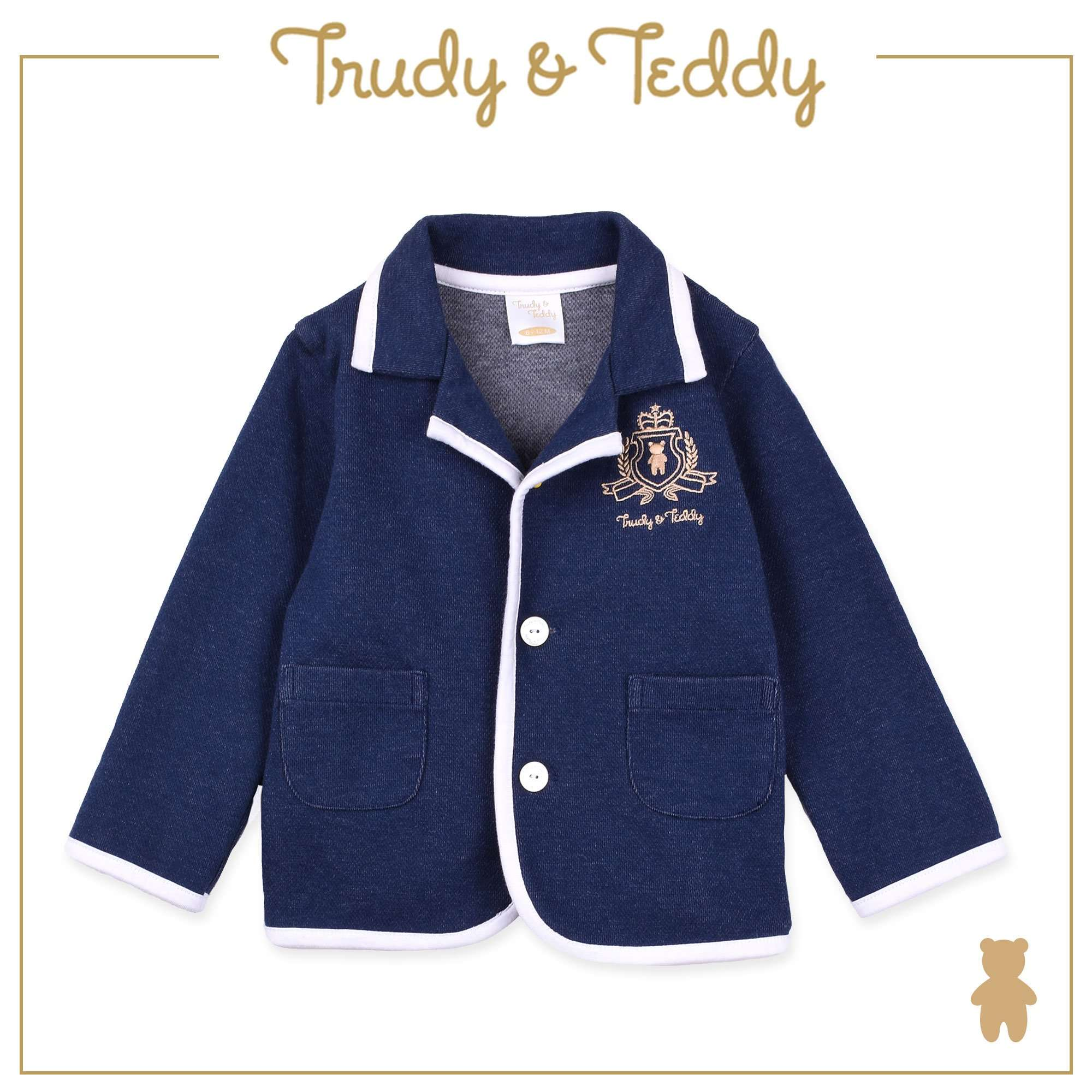 Trudy & Teddy Toddler to Kid Boy Blazer - Navy T922002-1610-L9 : Buy Trudy & Teddy online at CMG.MY
