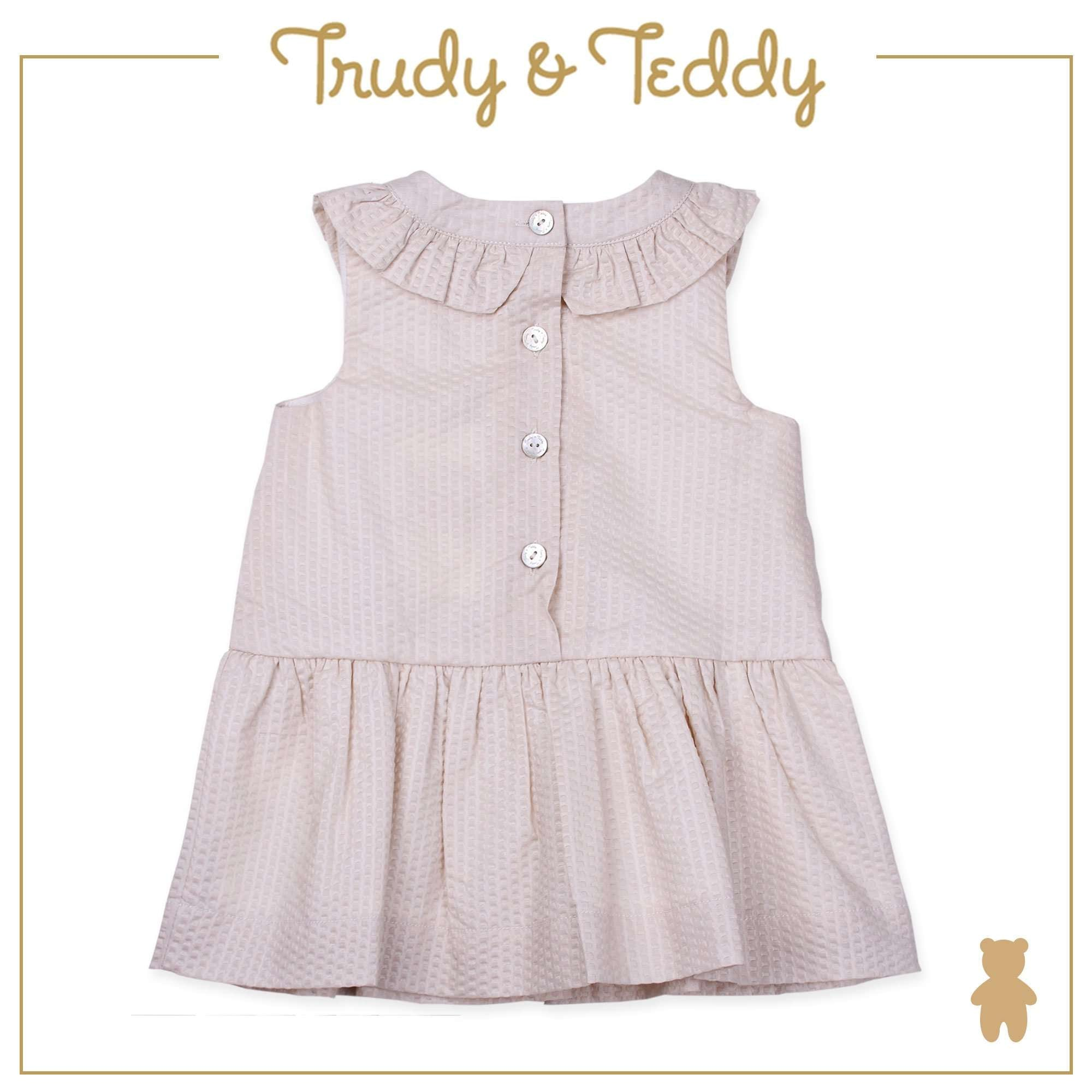Trudy & Teddy Baby Girl Sleeveless Dress - Light Khaki T924002-3101-K1 : Buy Trudy & Teddy online at CMG.MY