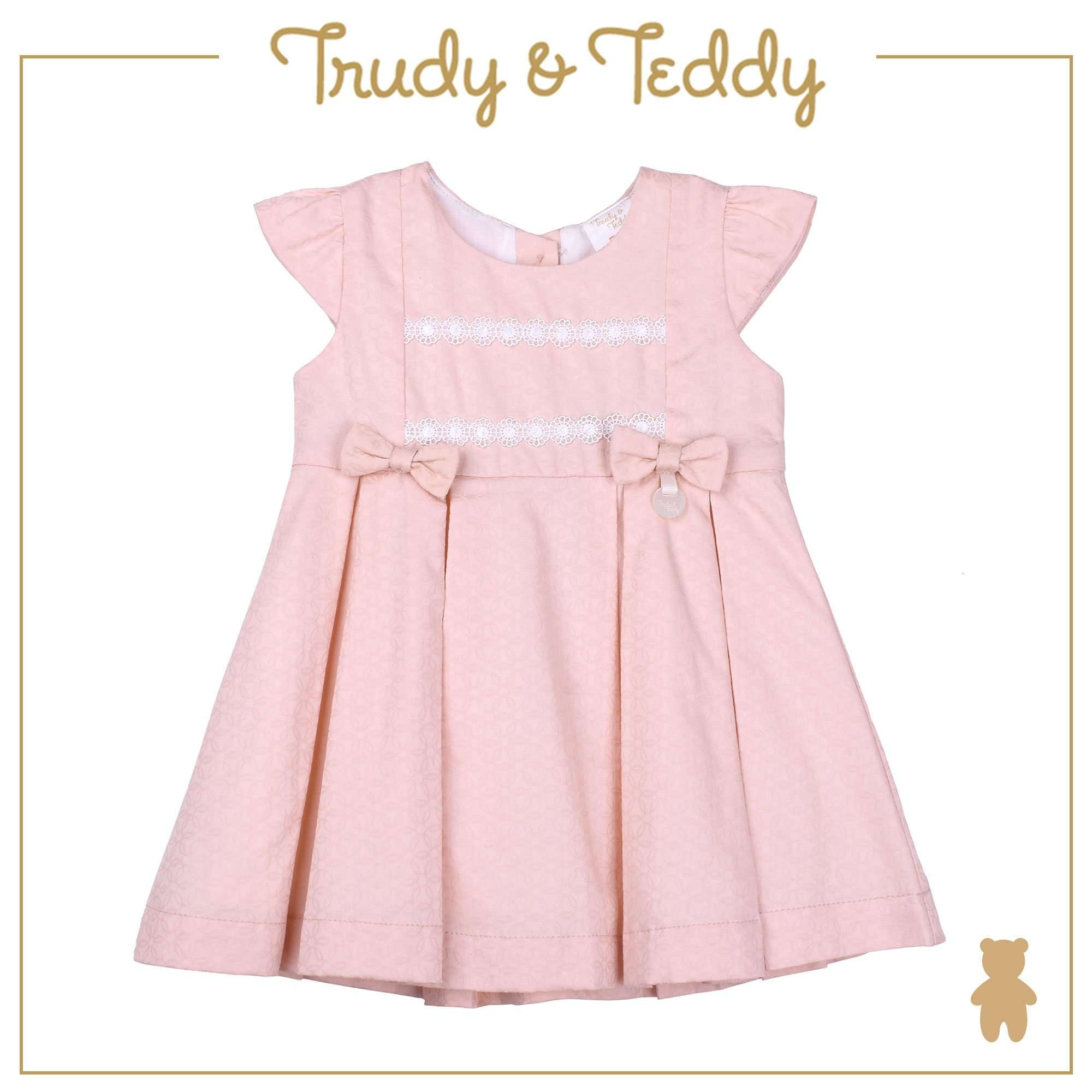 Trudy & Teddy Baby Girl Short Sleeve Dress - Light Orange T924002-3134-E1 : Buy Trudy & Teddy online at CMG.MY
