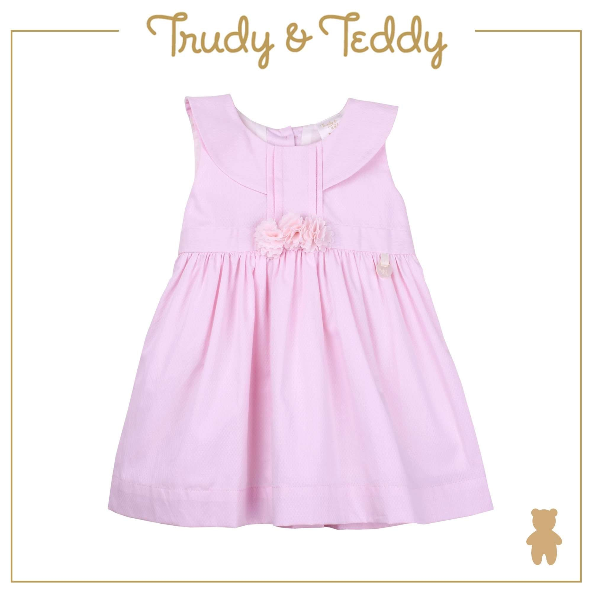Trudy & Teddy Baby Girl Sleeveless Dress - Light Pink T924002-3136-P1 : Buy Trudy & Teddy online at CMG.MY
