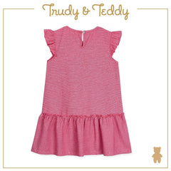 Trudy & Teddy Baby to Kid Girl Short Sleeve Dress With Hairband - Red T925103-4811-R5 : Buy Trudy & Teddy online at CMG.MY