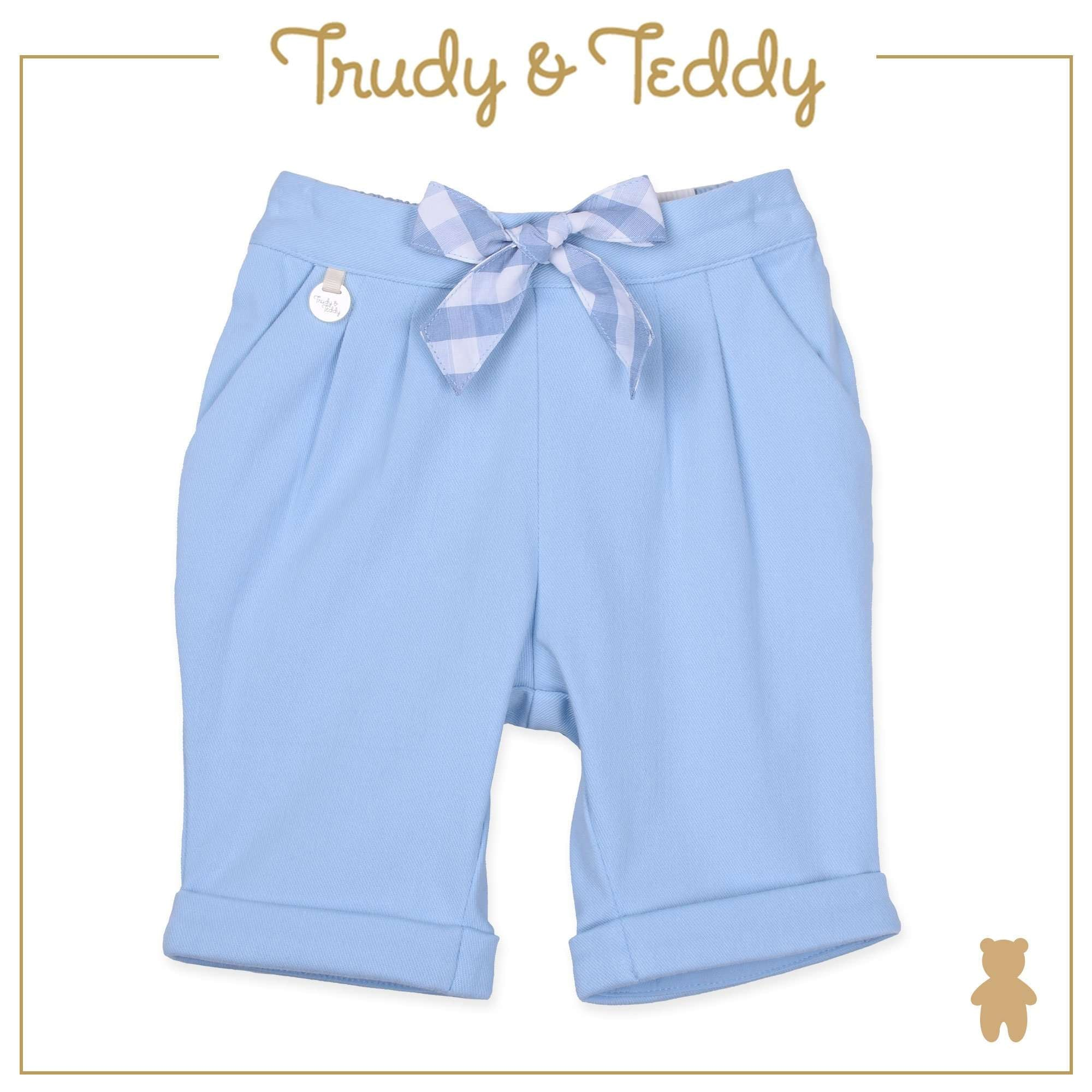 Trudy & Teddy Baby Girl Capri Pants - Light Blue T924001-2803-L1 : Buy Trudy & Teddy online at CMG.MY