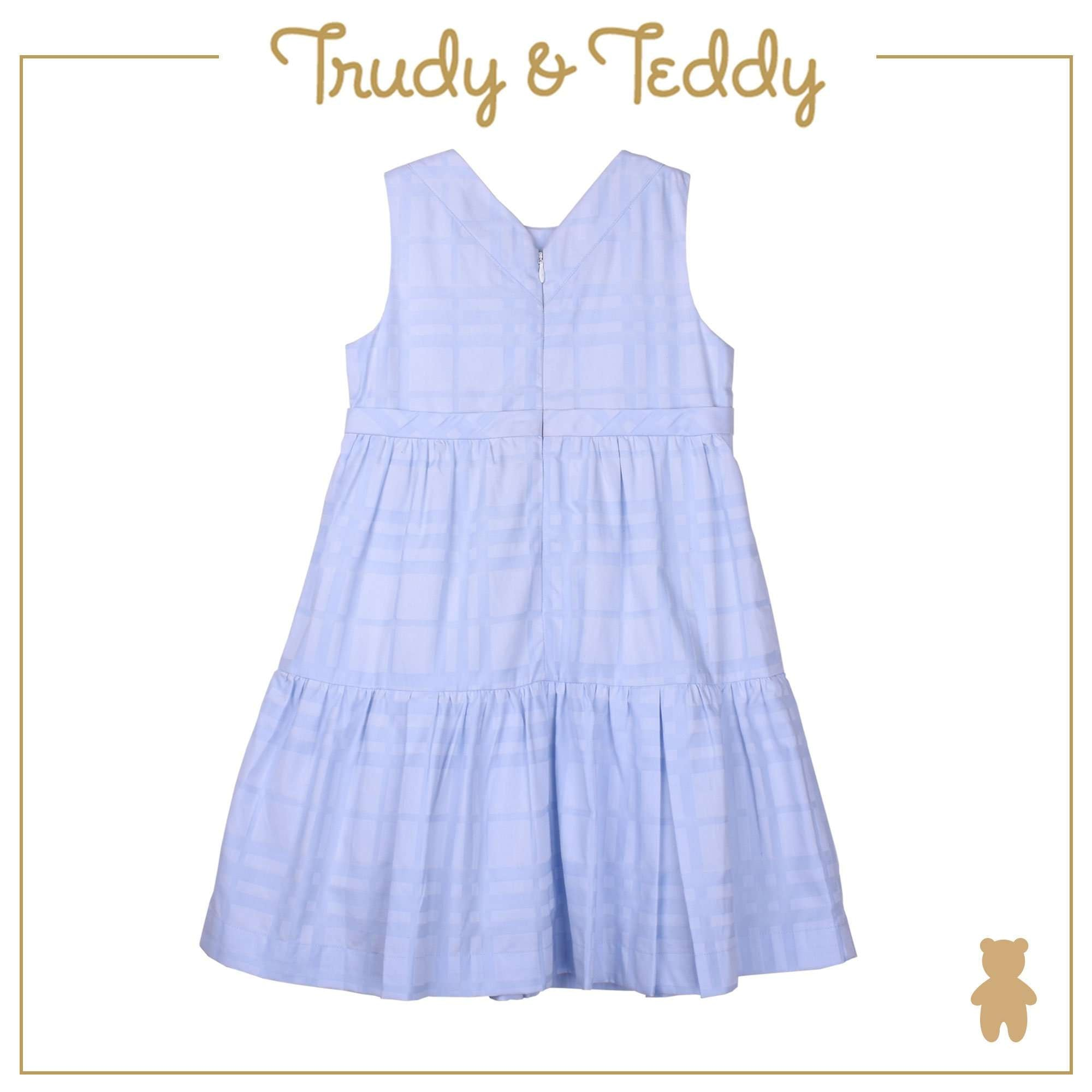 Trudy & Teddy Toddler to Kid Girl Sleeeveless Dress - Light Blue T925002-3142-L1 : Buy Trudy & Teddy online at CMG.MY