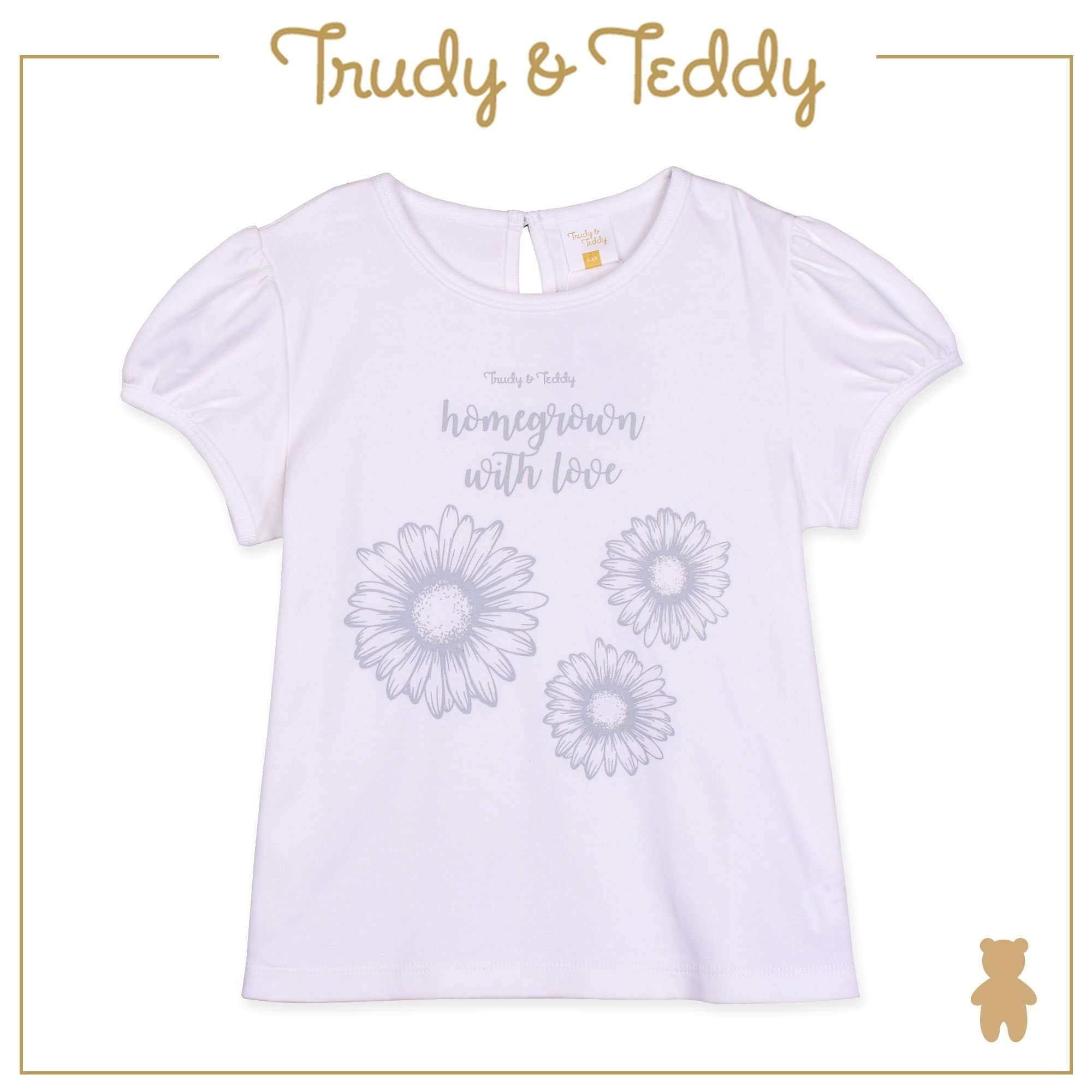 Trudy & Teddy Baby to Kid Girl Short Sleeve Long Pants Suit - Brown T925103-4118-B5 : Buy Trudy & Teddy online at CMG.MY