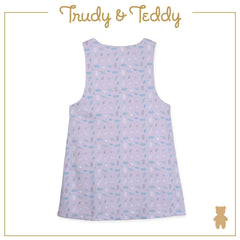 Trudy & Teddy Baby to Kid Girl Pinafore Suit Set - Light Grey T925103-4719-G1 : Buy Trudy & Teddy online at CMG.MY