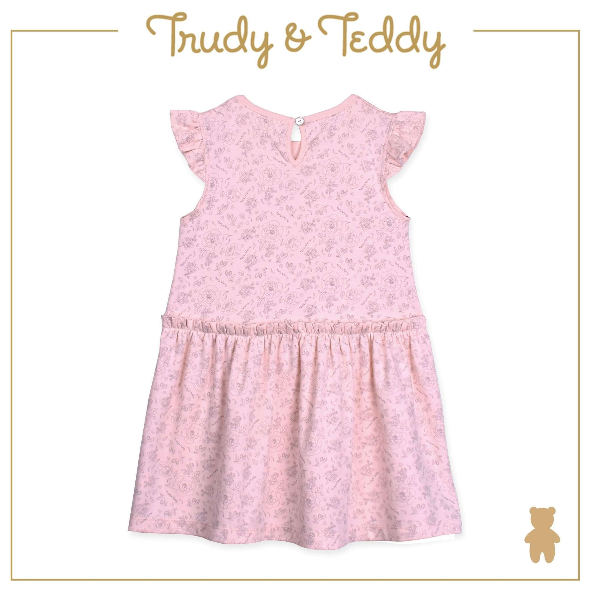 Trudy & Teddy Baby to Kid Girl Short Sleeve Dress With Hairband - Light Orange T925103-4814-E1 : Buy Trudy & Teddy online at CMG.MY