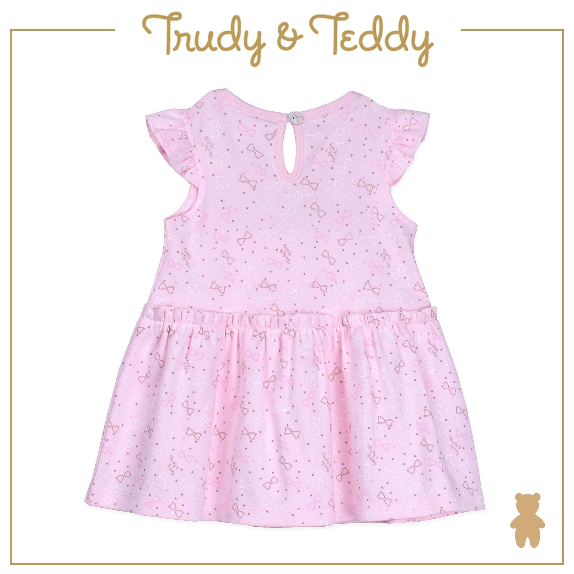 Trudy & Teddy Baby to Kid Girl Short Sleeve Dress with Hairband - Light Orange T925103-4828-E1 : Buy Trudy & Teddy online at CMG.MY