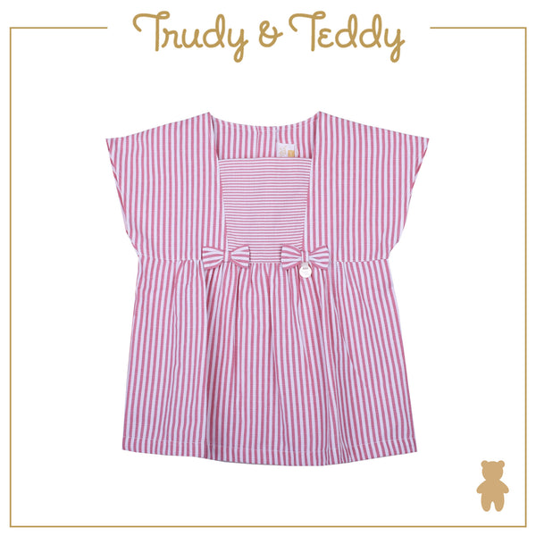Trudy & Teddy Girl FASHION  Sleeveless Blouse  - Red T935001-1408-R5