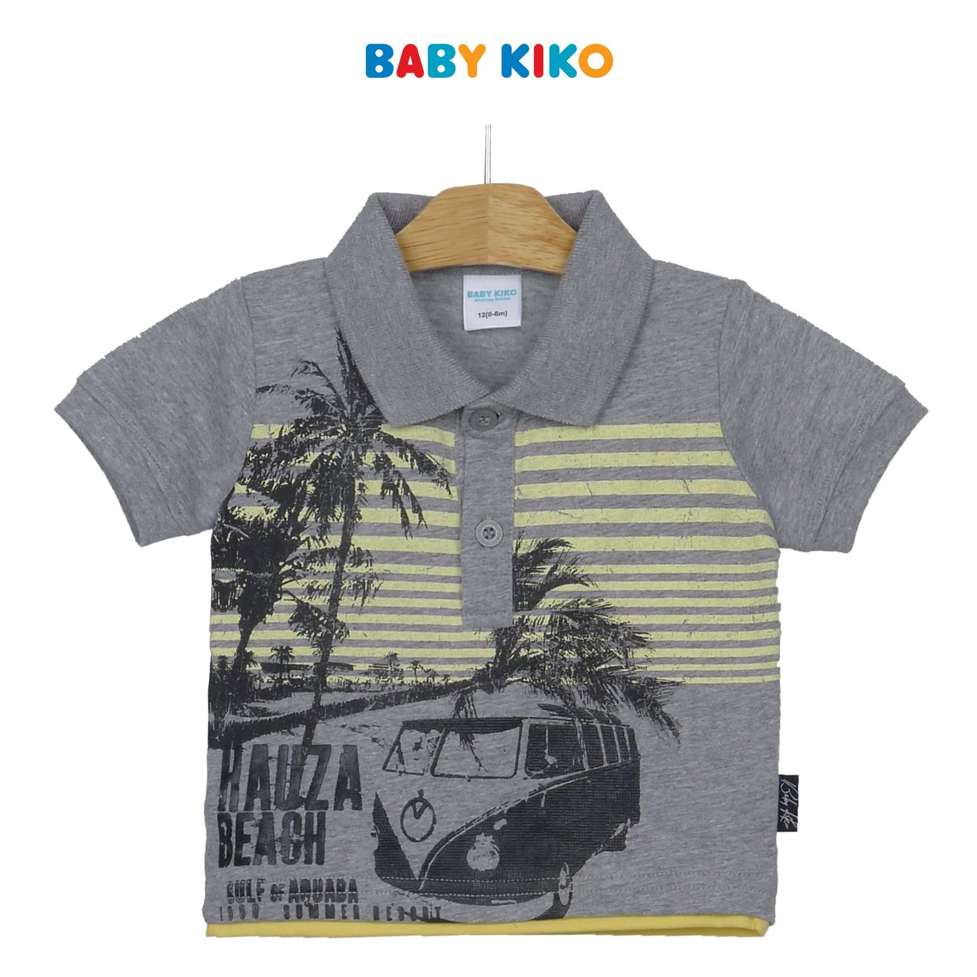 Baby KIKO Baby Boy Collar Short Sleeve Tee 330084-121 : Buy Baby KIKO online at CMG.MY