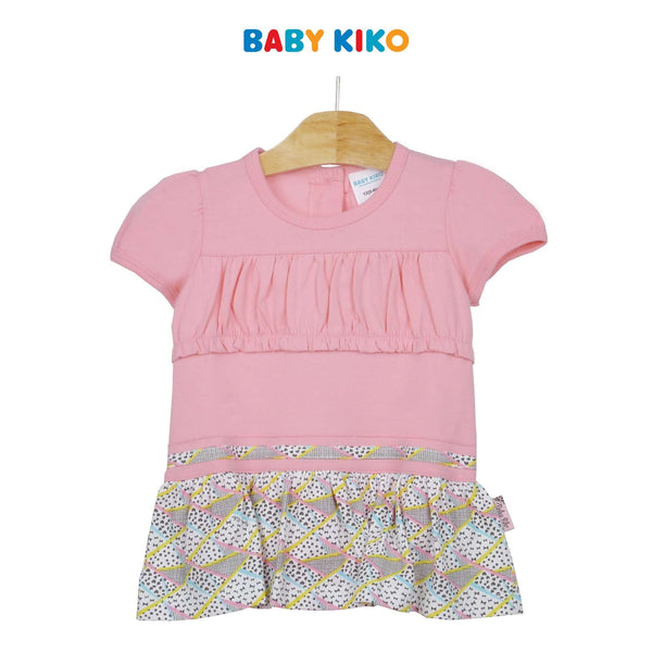 Baby KIKO Baby Girl Short Sleeve Romper 330071-361 : Buy Baby KIKO online at CMG.MY
