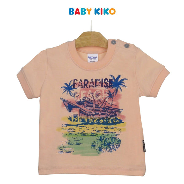 Baby KIKO Baby Boy Short Sleeve Tee 330082-111 : Buy Baby KIKO online at CMG.MY