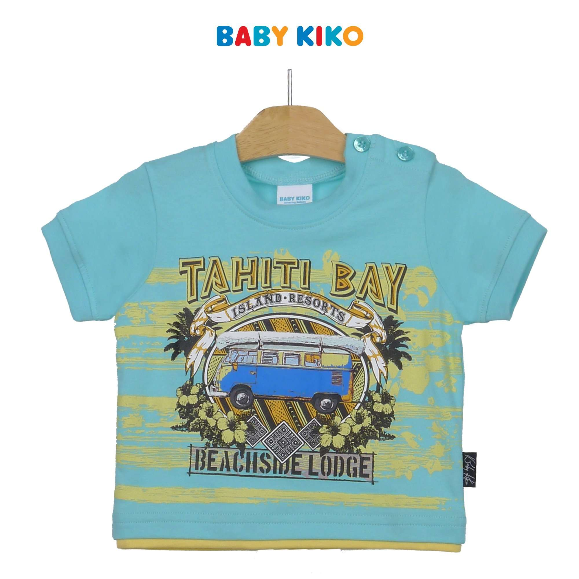 Baby KIKO Baby Boy Short Sleeve Tee 330083-111 : Buy Baby KIKO online at CMG.MY