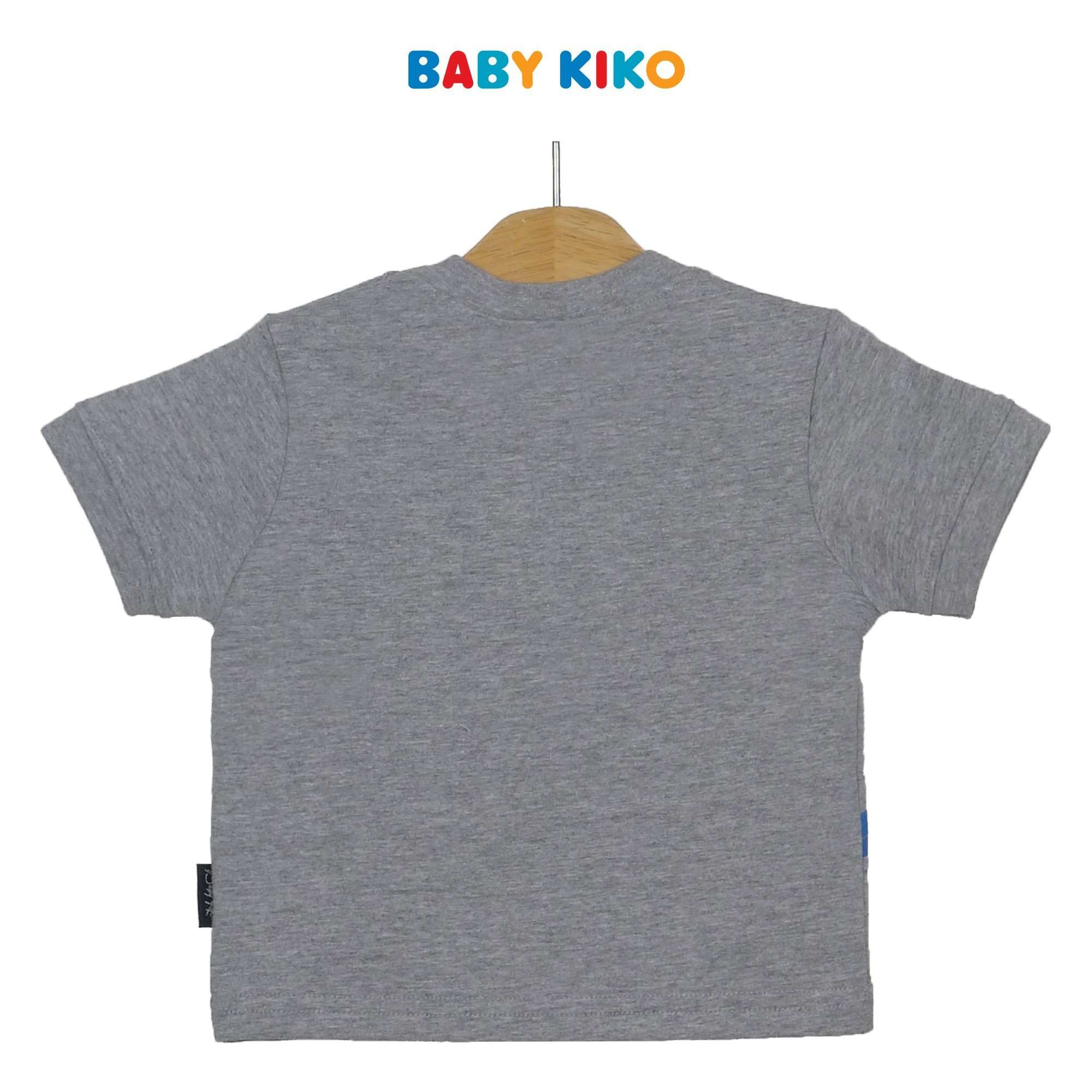 Baby KIKO Baby Boy Short Sleeve Tee 330084-111 : Buy Baby KIKO online at CMG.MY