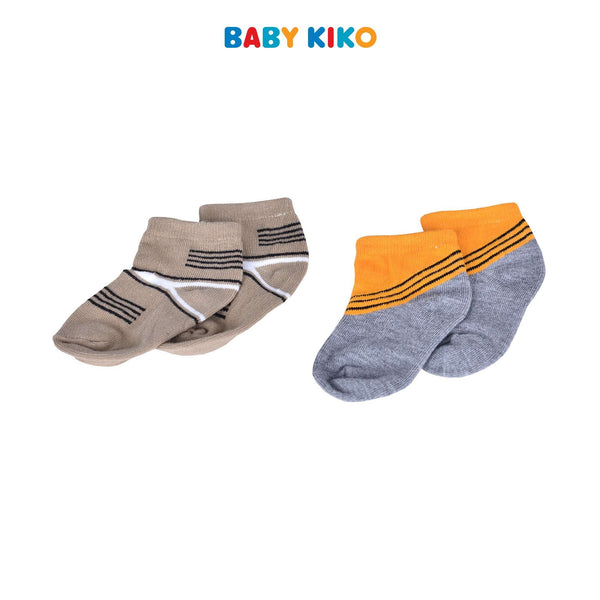 Baby KIKO Baby Boy Ankle Height Socks 320138-758 : Buy Baby KIKO online at CMG.MY