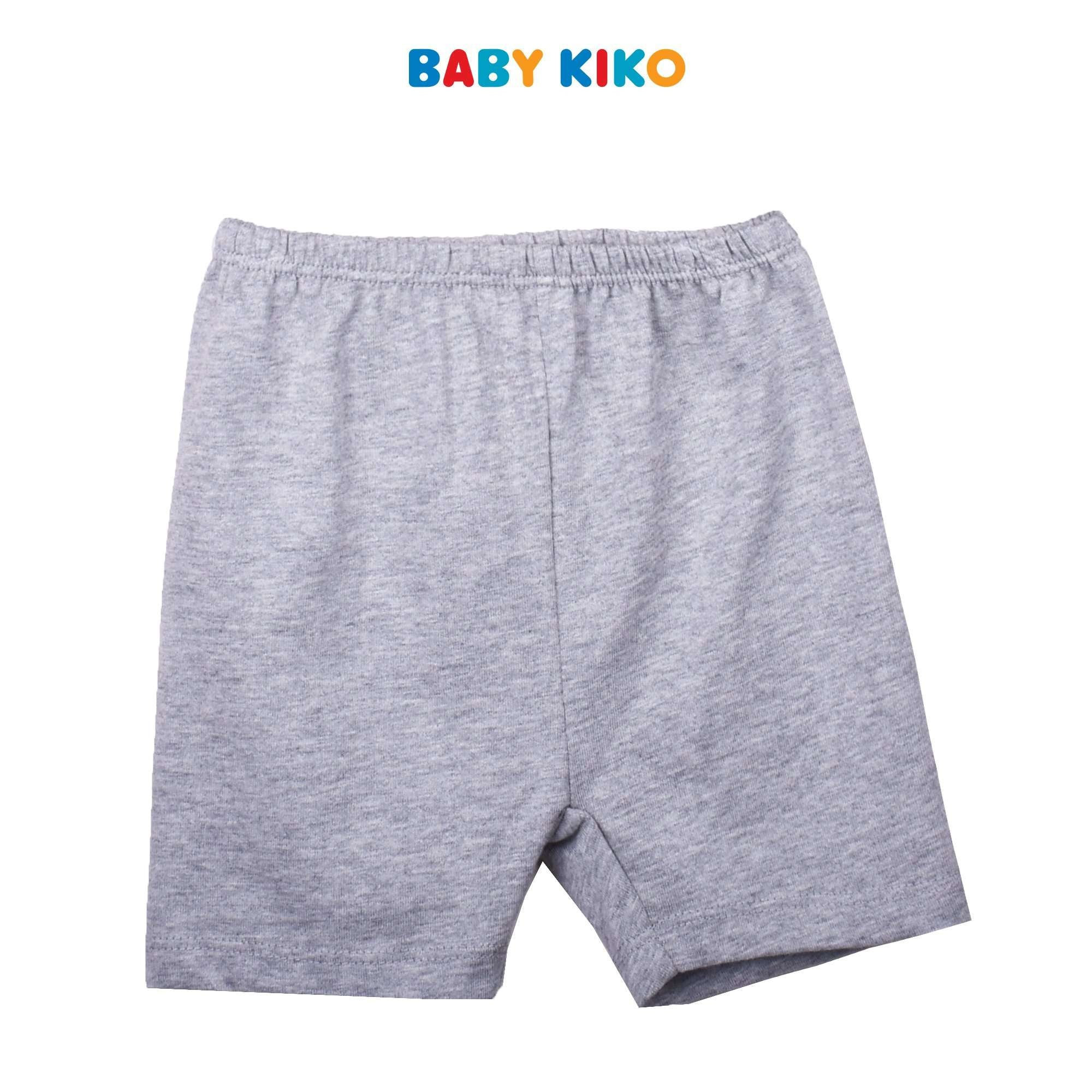 BABY KIKO BABY BOY BASIC SHORT SLEEVE BERMUDA SUIT -  NAVY B921103-4131-L9 : Buy Baby KIKO online at CMG.MY