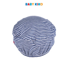 Baby KIKO Baby Boy Cap Melange Stripe Blue Knit 330063-711 : Buy Baby KIKO online at CMG.MY