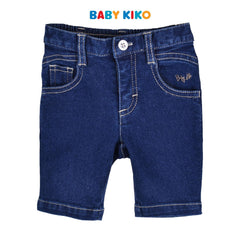 Baby KIKO Baby Boy Denim Bermuda - Blue 330138-201 : Buy Baby KIKO online at CMG.MY