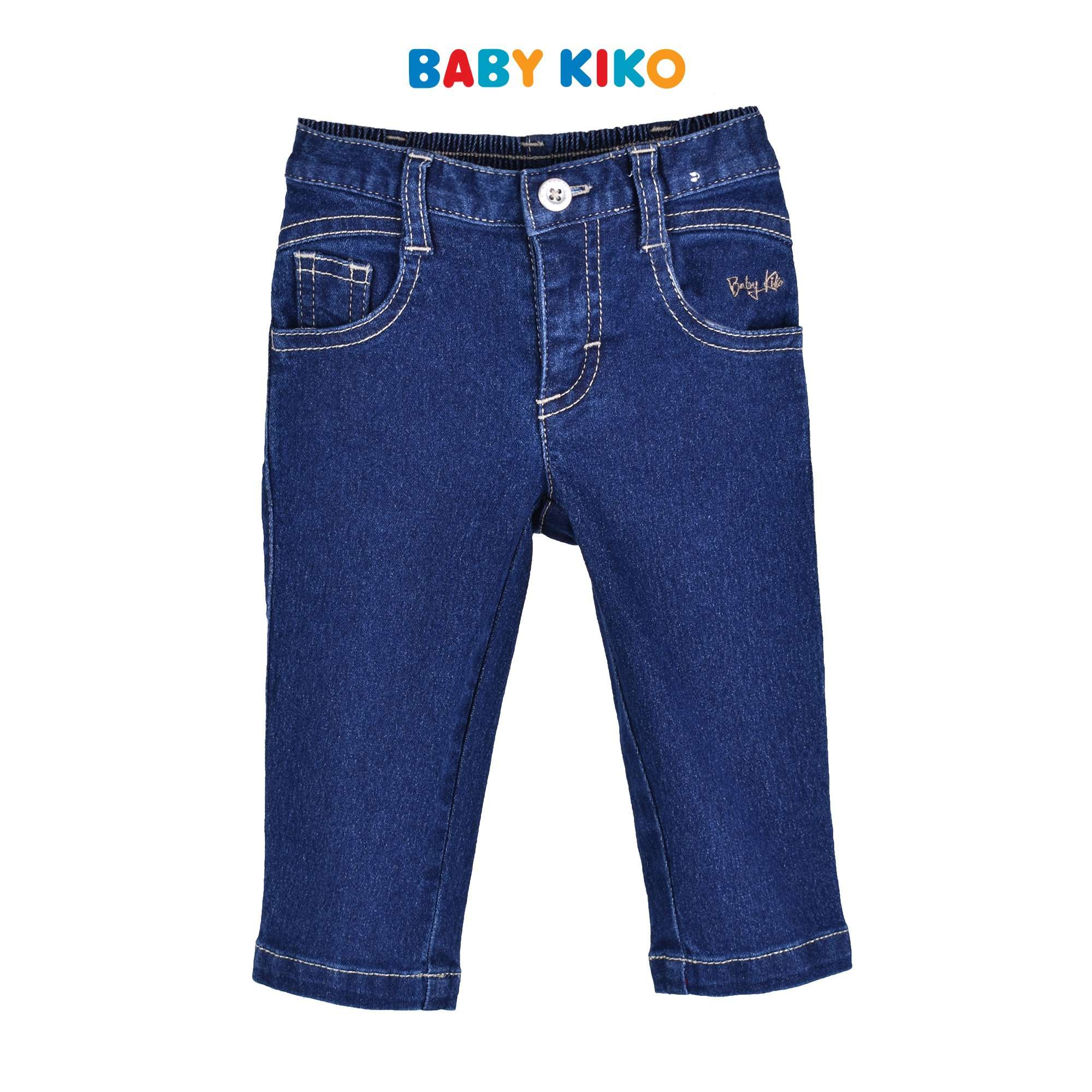 Baby KIKO Baby Boy Denim Long Pants - Blue 330138-211 : Buy Baby KIKO online at CMG.MY