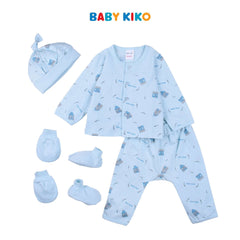Baby KIKO Baby Boy Gift Set New Born - Light Blue B921106-6041-L1 : Buy Baby KIKO online at CMG.MY