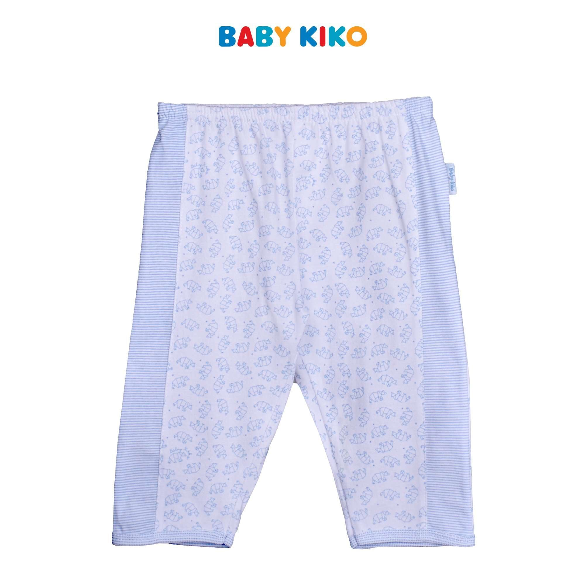 Baby KIKO Baby Boy Long Pants-White 310182-281 : Buy Baby KIKO online at CMG.MY