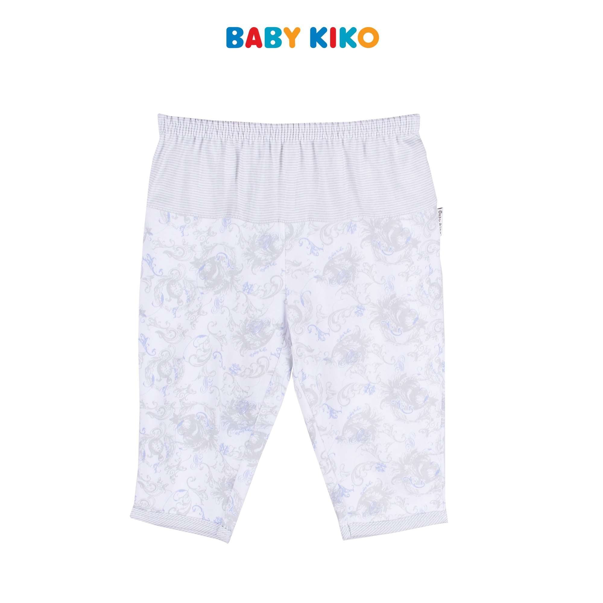Baby KIKO Baby Boy Long Pants - White 310166-282 : Buy Baby KIKO online at CMG.MY