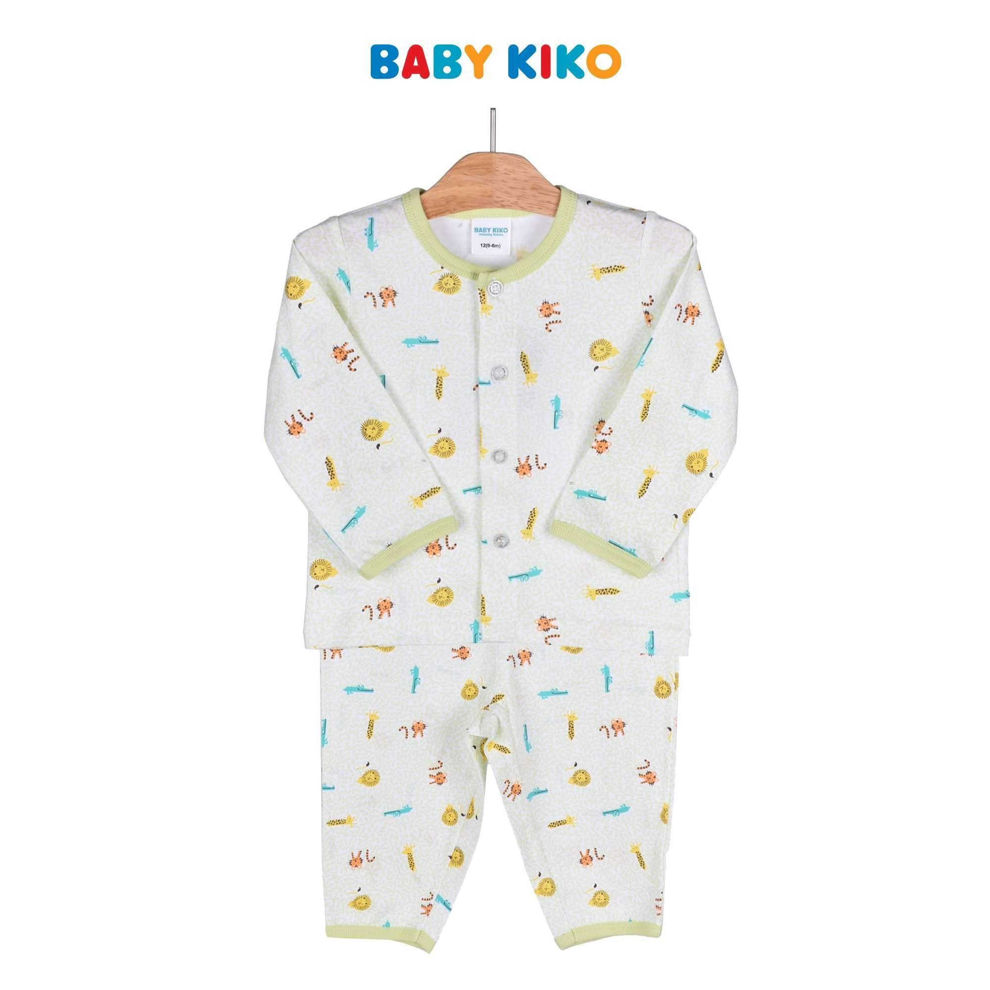 Baby KIKO Baby Boy Long Sleeve Long Pants Suit 320158-431 : Buy Baby KIKO online at CMG.MY
