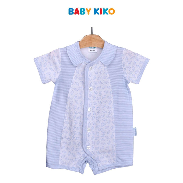 Baby KIKO Baby Boy Short Sleeve Romper-White 310182-361 : Buy Baby KIKO online at CMG.MY