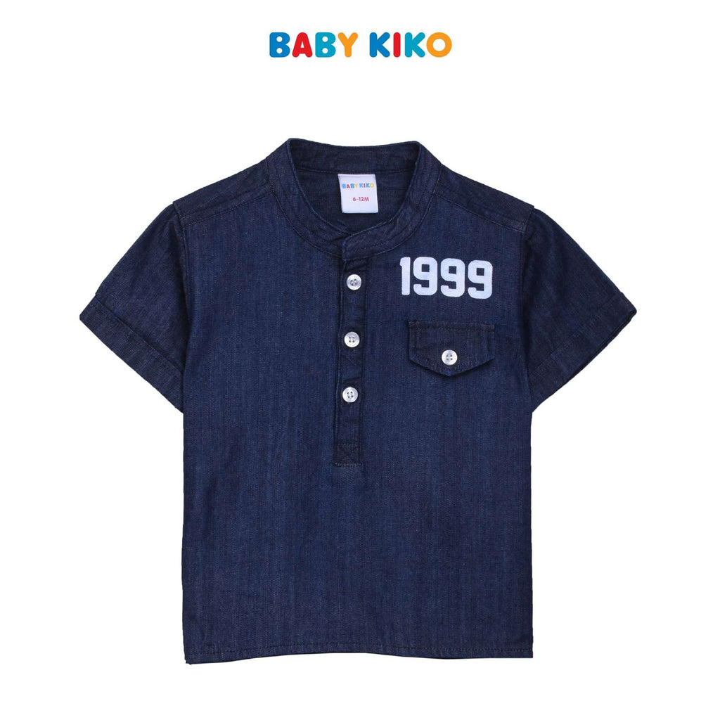Baby KIKO Baby Boy Short Sleeve Shirt B921001-1458-L5 : Buy Baby KIKO online at CMG.MY