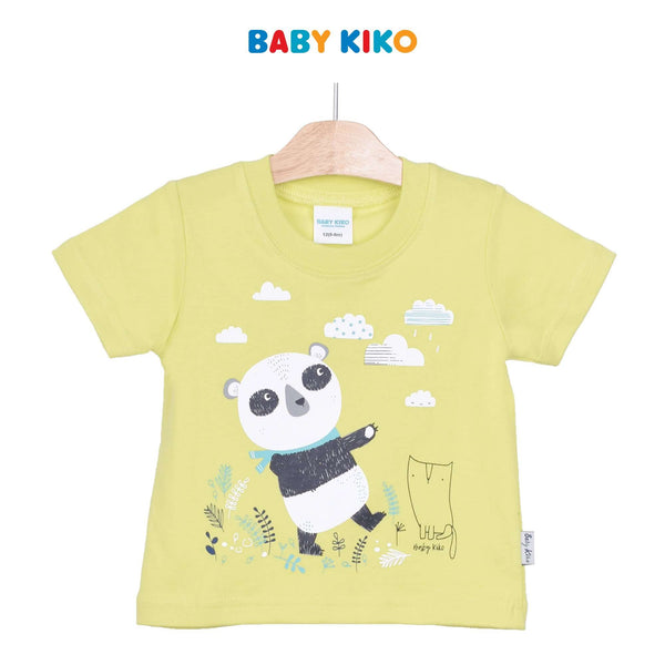 Baby KIKO Baby Boy Short Sleeve Tee - Green 325154-112 : Buy Baby KIKO online at CMG.MY