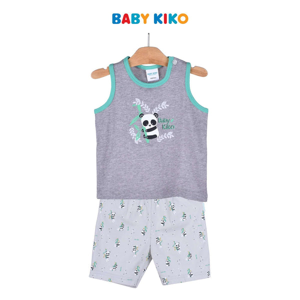 Baby KIKO Baby Boy Sleeveless Bermuda Suit 320118-401 : Buy Baby KIKO online at CMG.MY
