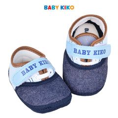 Baby KIKO Baby Boy Textile Shoes - Blue 310169-503 : Buy Baby KIKO online at CMG.MY