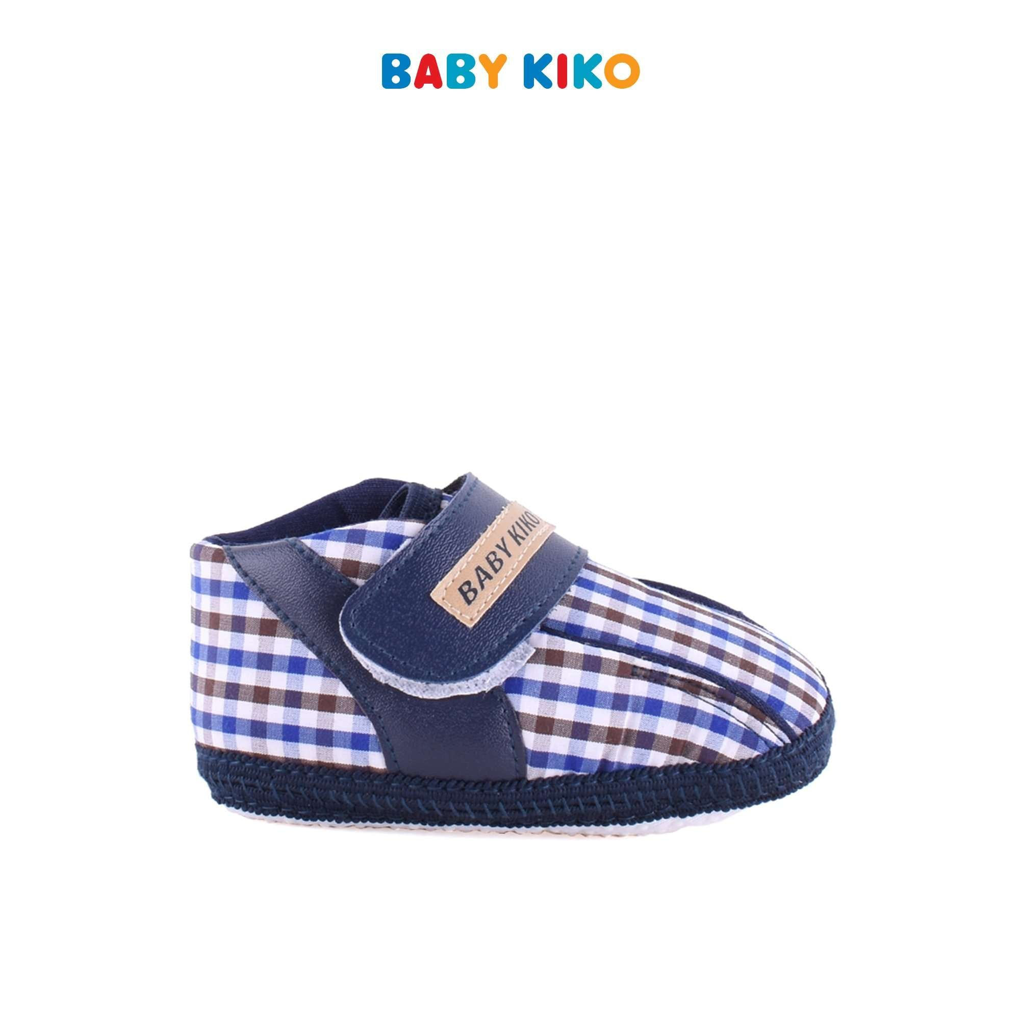 Baby KIKO Baby Boy Textile Shoes - Blue B921106-5080-L5 : Buy Baby KIKO online at CMG.MY