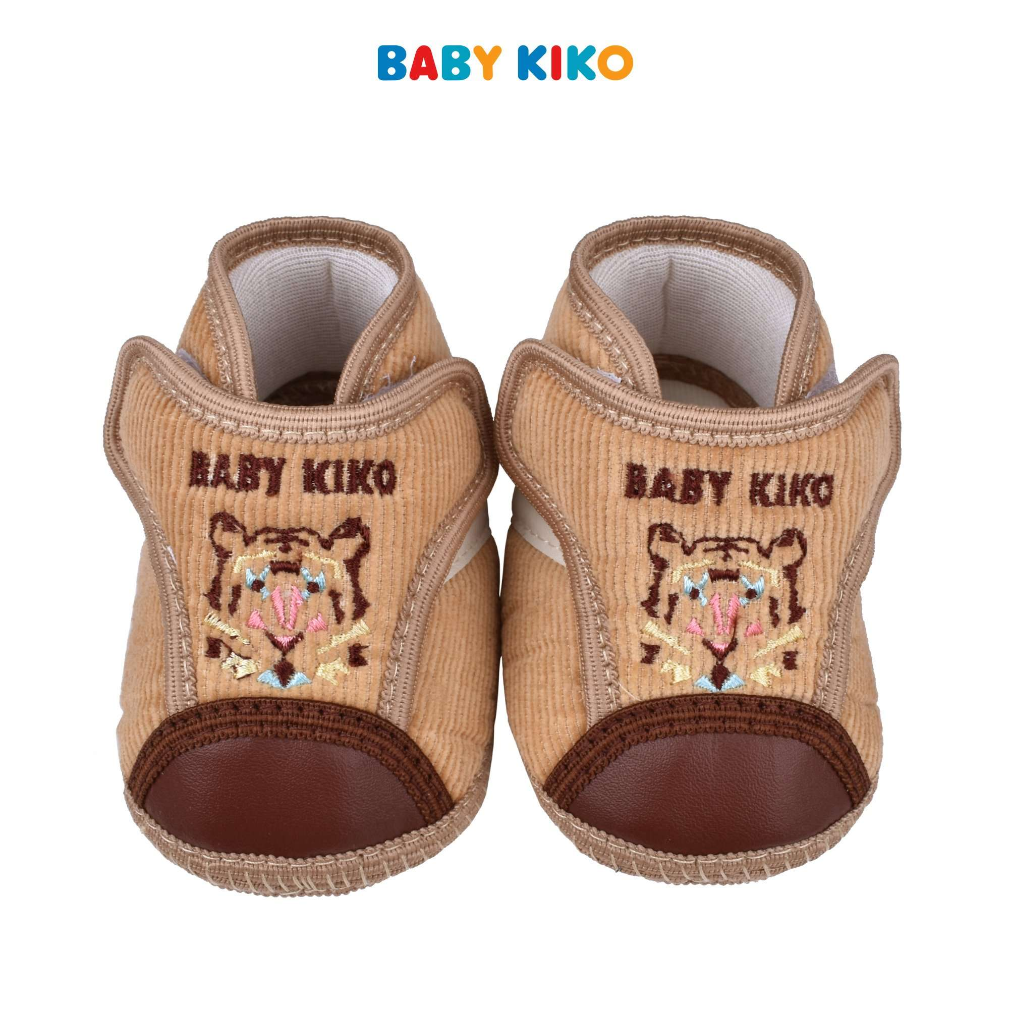 Baby KIKO Baby Boy Textiles Shoes- Khaki 310120-506 : Buy Baby KIKO online at CMG.MY