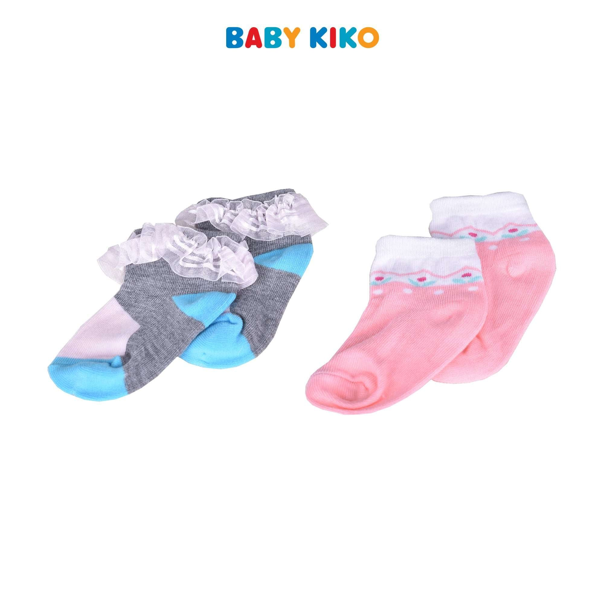 Baby KIKO Baby Girl Ankle Height Socks 320138-763 : Buy Baby KIKO online at CMG.MY