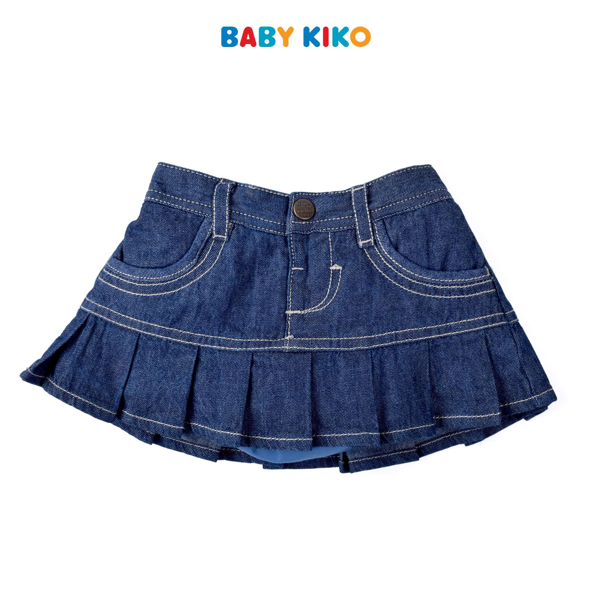 Baby KIKO Baby Girl Denim Skirt- Blue 330139-221 : Buy Baby KIKO online at CMG.MY