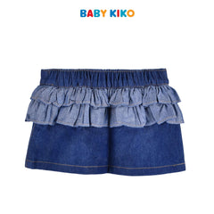 Baby KIKO Baby Girl Denim Skirt With Panty Denim blue infant 330058-221 : Buy Baby KIKO online at CMG.MY