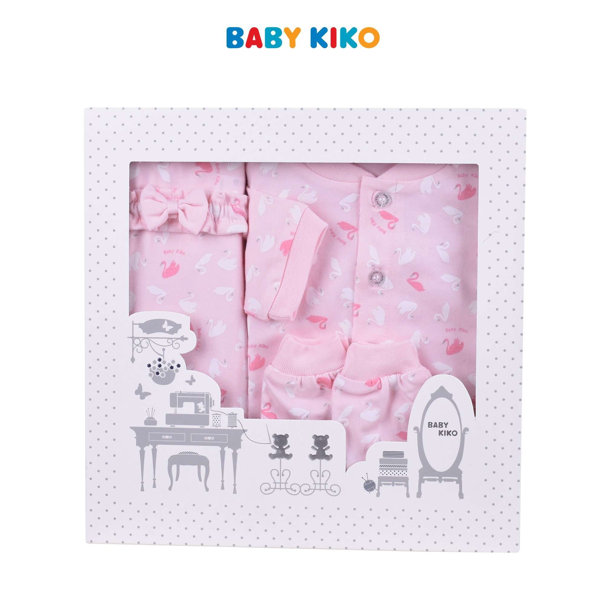 Baby KIKO New Born Baby Girl Gift Set 320167-601 : Buy Baby KIKO online at CMG.MY