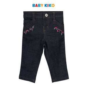 Baby KIKO Baby Girl Jeans Regular Fit - 330074-211 : Buy Baby KIKO online at CMG.MY