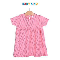 Baby KIKO Baby Girl Knit Dress- Peach 320195-333 : Buy Baby KIKO online at CMG.MY