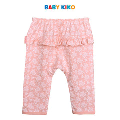 Baby KIKO Baby Girl Long Pants- Floral Pink 310177-281 : Buy Baby KIKO online at CMG.MY
