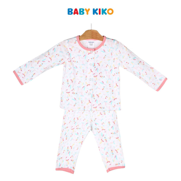 Baby KIKO Baby Girl Long Sleeve Long Pants Suit 320177-431 : Buy Baby KIKO online at CMG.MY