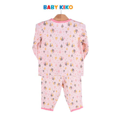 Baby KIKO Baby Girl Long Sleeve Long Pants Suit Off White Knit 320114-431 : Buy Baby KIKO online at CMG.MY