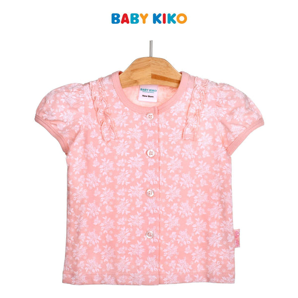 Baby KIKO Baby Girl Long Sleeve Tee-Floral Pink 310177-111 : Buy Baby KIKO online at CMG.MY