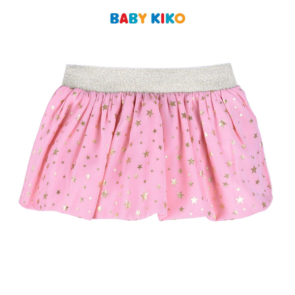Baby KIKO Baby Girl Short Skirt With Panty Lace Pink 330060-262 : Buy Baby KIKO online at CMG.MY