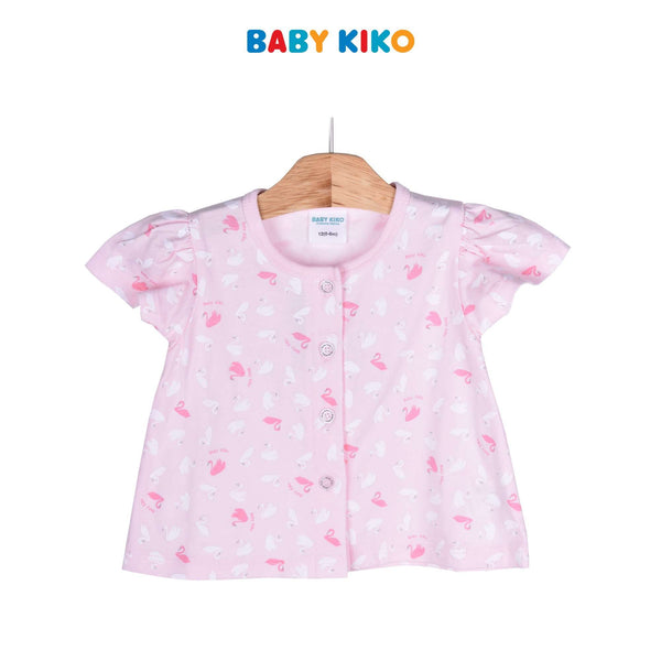Baby KIKO Baby Girl Short Sleeve Bermuda Suit 320137-411 : Buy Baby KIKO online at CMG.MY