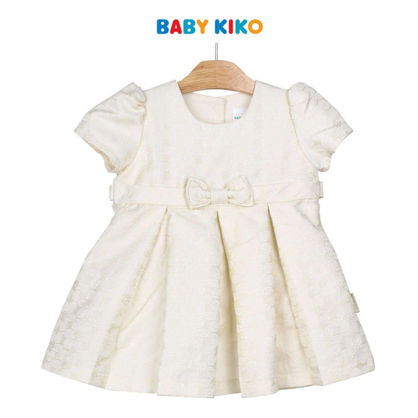 Baby KIKO Baby Girl Short Sleeve Dress 310154-312 : Buy Baby KIKO online at CMG.MY