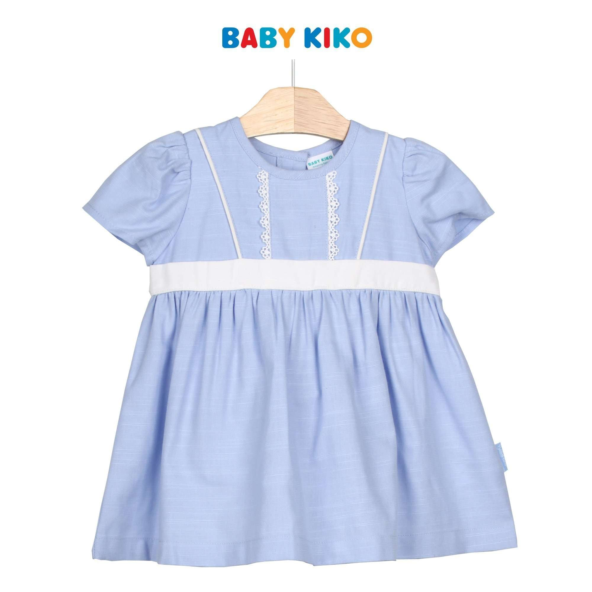 Baby KIKO Baby Girl Short Sleeve Dress 310176-312 : Buy Baby KIKO online at CMG.MY